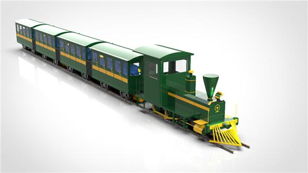 洛阳有轨观光火车生产厂家